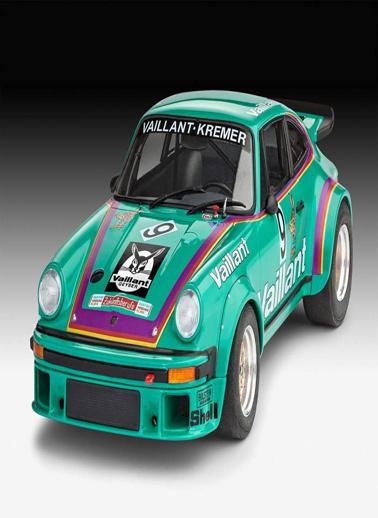 Revell Revell Maket 1:24 Porsche Vaillant Renkli